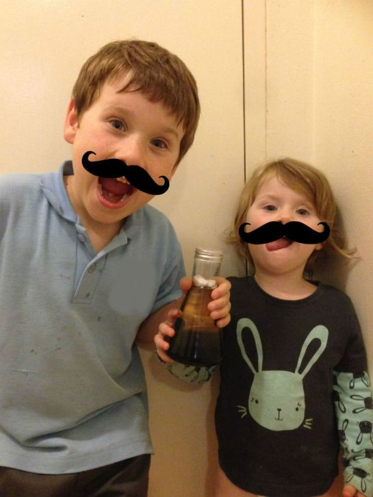 My Budding Scientists / Photo by Evil Genius Mum