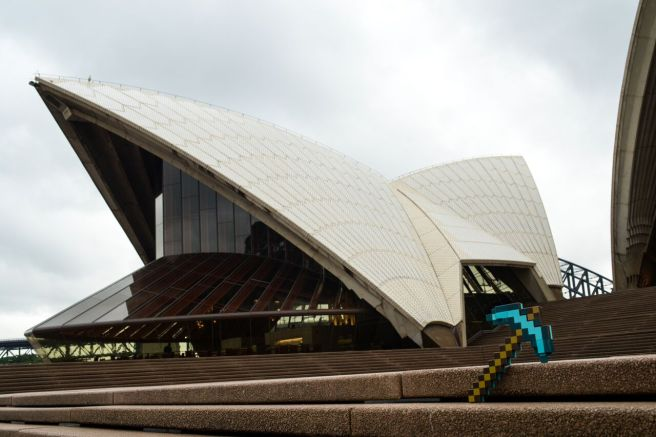 Minecraft at the Opera House 4 - credit Michael Yore