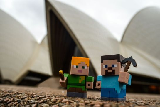 Minecraft at the Opera House 5 - credit Michael Yore
