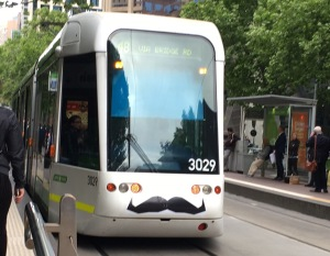 Tram travel around Melbourne for PAX