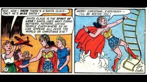 Wonder Woman is spirit of Santa