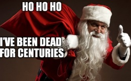 Santa is Dead. Spread the Word.