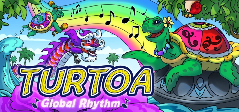 Title image of Turtoa for gameschooling with music